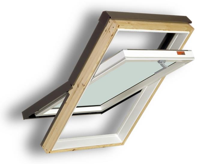 02-Műanyag tetőtéri ablak