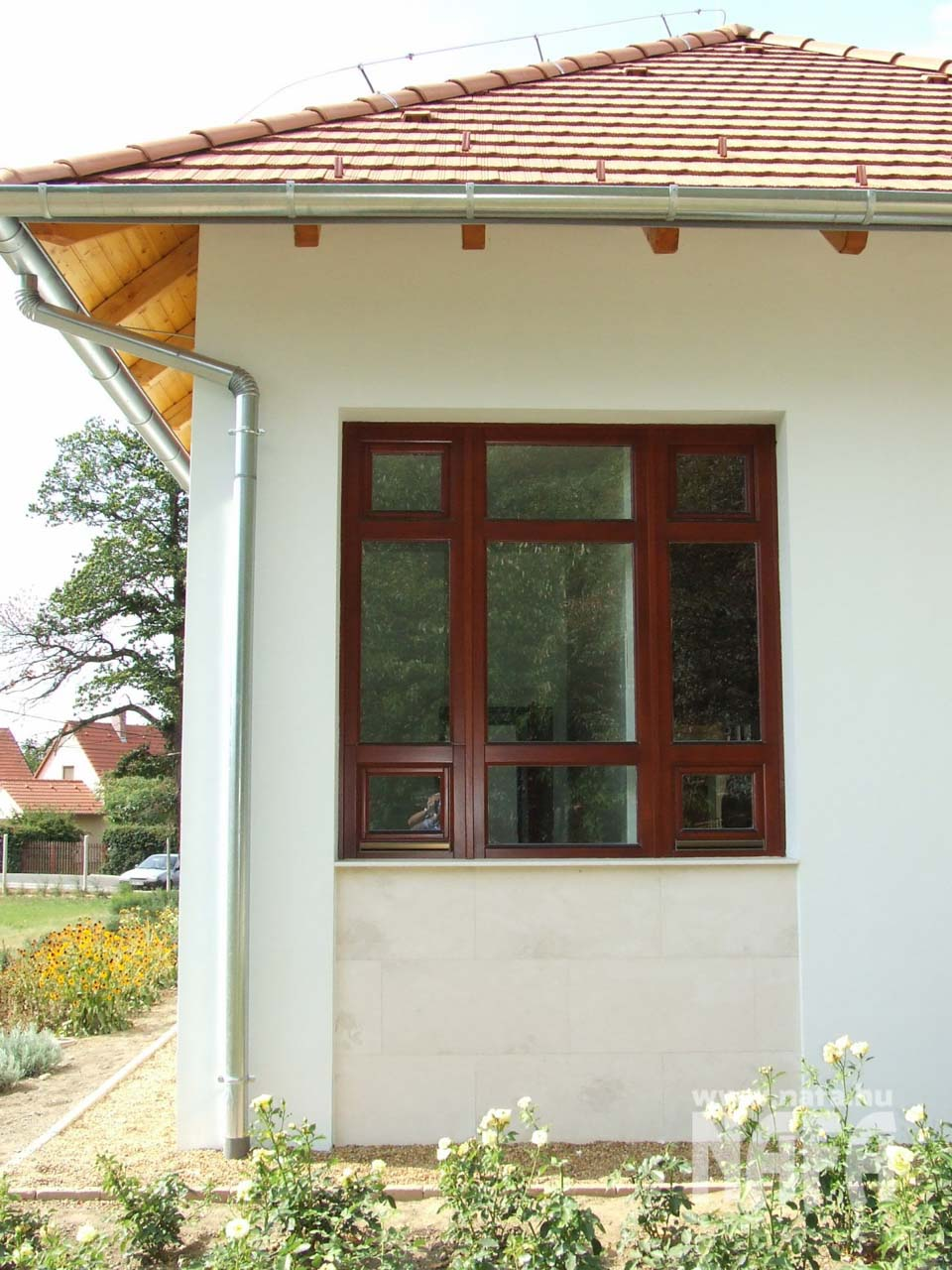 Fa nyílászárók, egyedi festett ablakok, Rippl-Rónai Múzeum Kaposvár