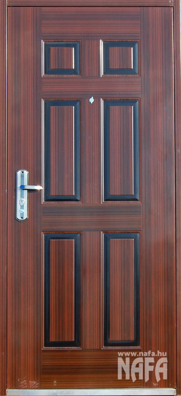 Acél kültéri bejárati ajtó