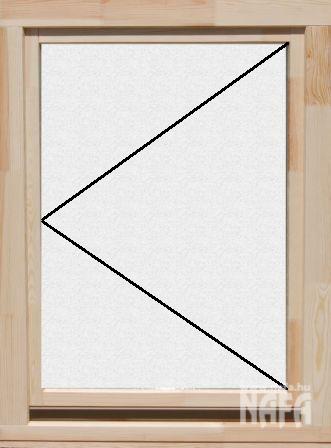Egyszárnyú Fa Ablak 11